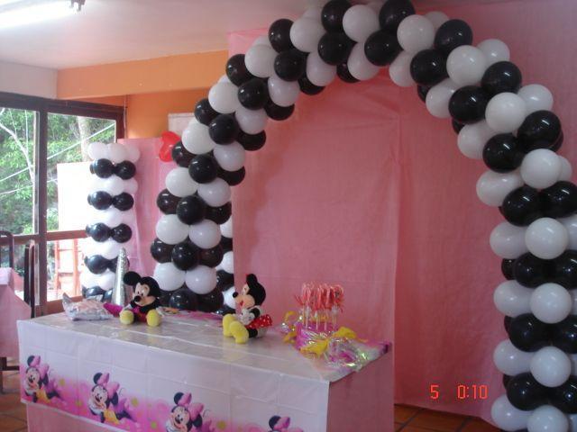 Como fazer decoraç u00e3o com bexigas Arteblog -> Decoração Com Balões Como Fazer Passo A Passo