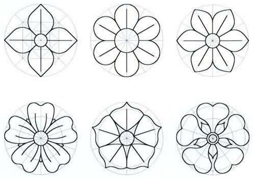 Pin pintar multy patrones dibujos de flores para bordar - Patrones para pintar en tela ...
