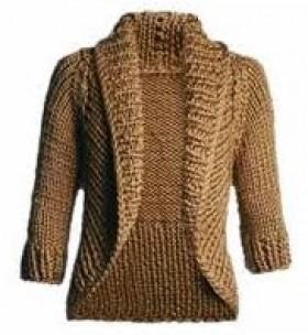tricô blusa par ao frio