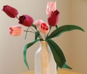 tulipas de feltro 01