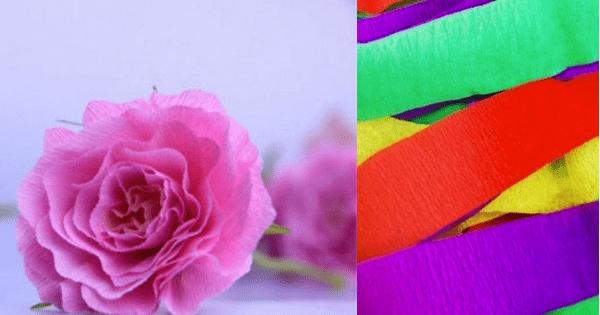 Lindas Flores De Papel Crepom Passo A Passo Arteblog