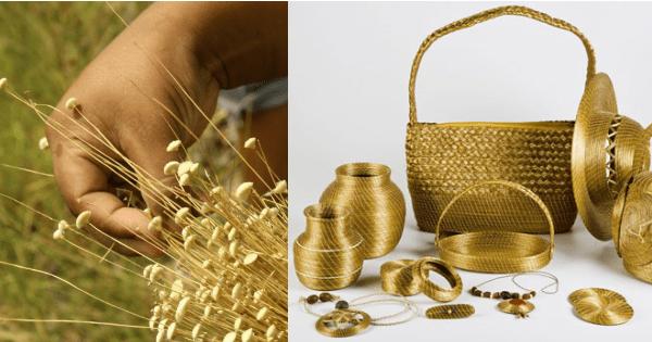 Artesanato Vidro De Conserva ~ Arte com capim dourado da regi u00e3o norteé destaque nas novelas da Globo Arteblog