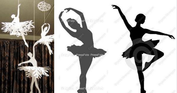 fde9ca741a Móbile de bailarina - Passo a passo com molde - Arteblog