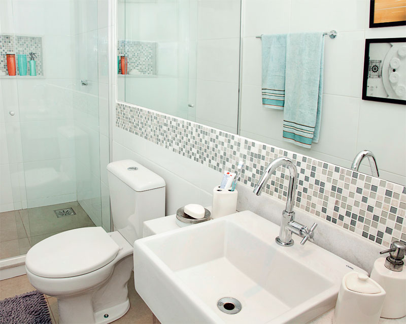 Dicas para dona de casa em produtos de limpeza, comida, banheiro, sala e lava -> Banheiro Pequeno Creme