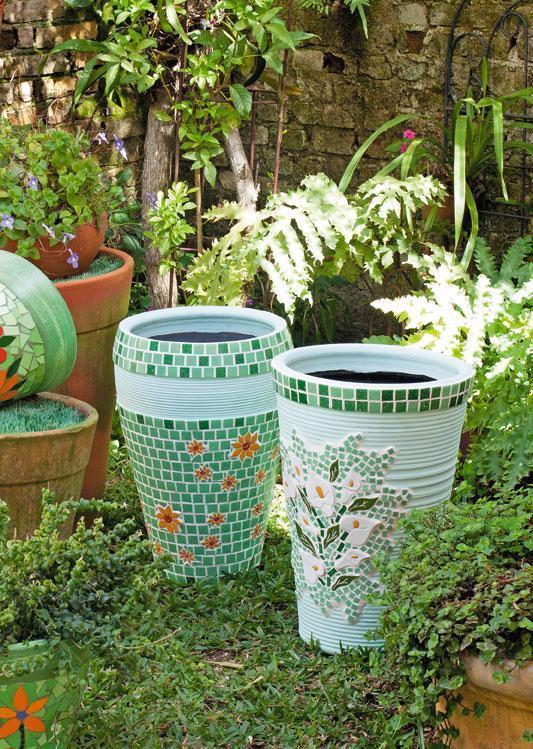 decoracao jardim vasos:Quem não adoraria ter um lindo jardim em casa? Um lugar de descanso
