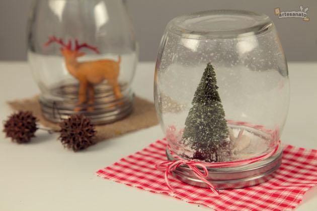 Aparador Zaiken ~ Enfeites de Natal feitos com material reciclável Passo a passo Arteblog