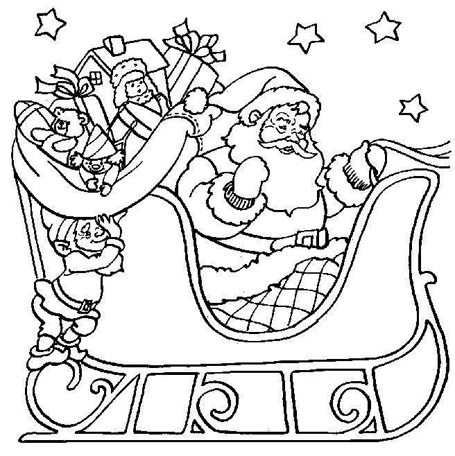 Desenhos De Papai Noel Para Imprimir E Colorir Arteblog