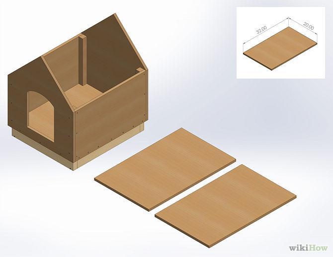 Como fazer uma casinha simples e pr tica de cachorro gastando pouco arteblog - Como hacer una casa de carton pequena ...