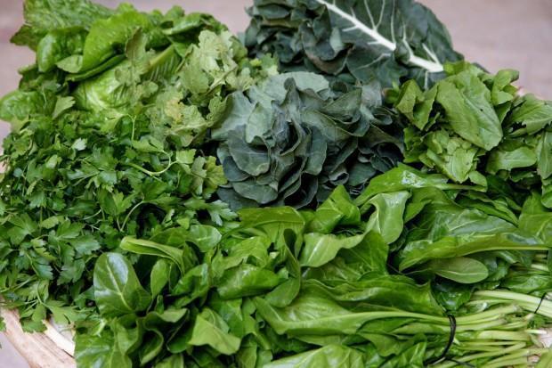 Cálcio verduras