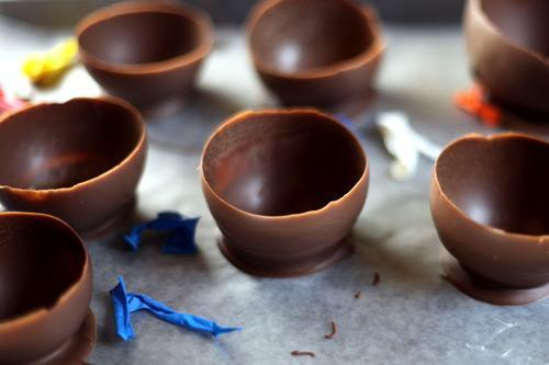 Cumbuca de chocolate