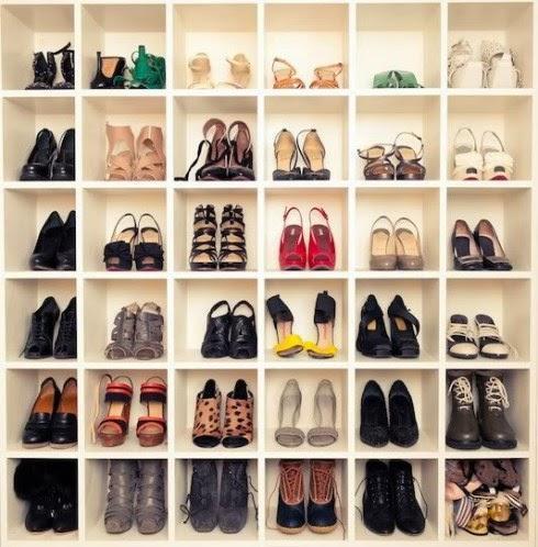 Nichos são perfeitos para organizar