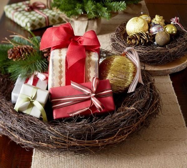 Diy Christmas Decorations Nz : Decora?es f?ceis e r?pidas para a mesa de natal arte