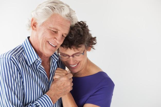 idoso, mulher, homem, sexo
